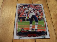 2014 Topps Card #37B TOM BRADY SP Photo Variation Short Print Picture Variant