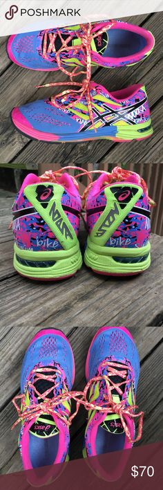Asics Gel Noosa Tri 10 Shoes Comfy and in excellent condition! No holes or stains! Barely any signs of wear. Great shoes for running or wearing day to day. Ships same or next day from smoke free home! Asics Shoes Athletic Shoes
