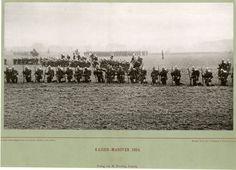 Druck von A. Naumann & Schroeder, Leipzig, Kaiser-Manöver 1884     #Europe #Allemagne_Deutschland #Allemagne_Divers