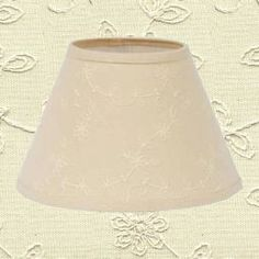 8 cleveland vintage lighting black clip on empire lamp shade candlewicking cream lampshades mozeypictures Choice Image