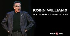BREAKING: Actor-comedian Robin Williams FoundDead http://www.foxnews.com/entertainment/2014/08/11/robin-williams-dead-at-63-in-suspected-suicide-officials-say/