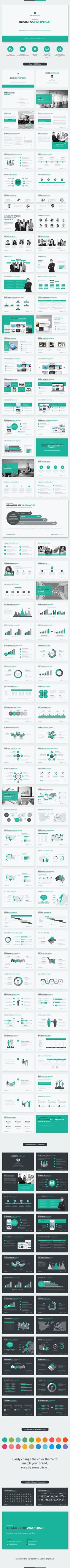 Business Proposal PowerPoint Template #design Download…