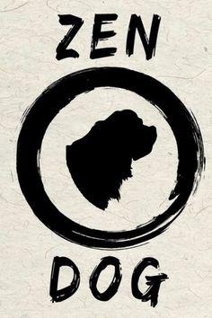 Zen Dog: Saint Bernard Yoga Dog Journal, 6x9, 108 Lined Pages (Journals To Write In)