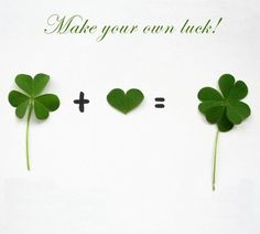 Make you own #Luck