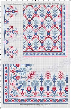 Cross Stitch Floss, Cross Stitch Borders, Cross Stitch Designs, Cross Stitching, Cross Stitch Patterns, Folk Embroidery, Cross Stitch Embroidery, Embroidery Designs, Cross Stitch Freebies