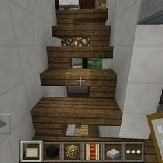 Instagram photo by modernminecrafter - Stair Ideas!! #stairs #minecraft #mcpe #minecraftpocketedition #modern #house #modernhouse #interior #interiordesign