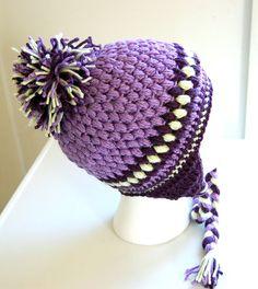 The Talini Teen/Adult Crochet Hat PDF PATTERN - Instant Download