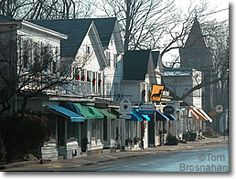 Main St, Essex CT - We lived on Pratt St., a block behind Main for about three years - made some of our best friends ever while we lived there!