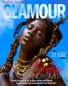 Anne Boleyn star Jodie Turner-Smith On Texturism, Racism And Motherhood | Glamour UK Famous Sisters, Uk Digital, Hair Issues, All Hairstyles, Natural Hair Care Tips, Glamour Uk, One Night Stands, Anne Boleyn, The A Team