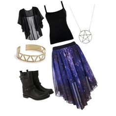 Gypsy/Wiccan outfit by rebekahmorgan on Polyvore