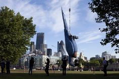 There's A Giant Dead Parrot On London's South Bank - Monty Python