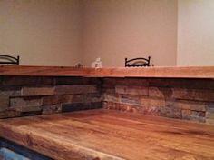 Exceptionnel Tx Pecan Face Grain Custom Wood Countertop And Bar Top.