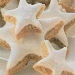 Cukrovi na Vanoce: Pomerančové hvězdičky s ořechy