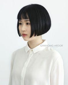 SCATTER – Over cut bob #short #hair #beauty #cut #chahongardor
