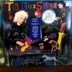 Til Tuesday Everything's Different Now Vinyl Record LP 1988 Epic Alternative Rock Aimee Mann by vintagebaronrecords on Etsy