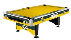Green Bay Packer Pool Table
