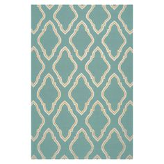 Jill Rosenwald Rugs Fallon Dark Robin's Egg Teal Area Rug & Reviews | Wayfair