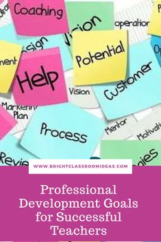 Professional Development Goals, Coaching, Teacher, Classroom, Success, Student, How To Plan, Training, Class Room