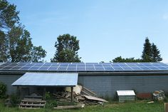 Grasshopper Solar | New Lowell 12.74kW Barn Roof Flush Mount Solar Panel System