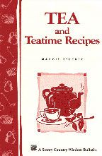 Tea and Teatime Recipes includes recipes for many different exciting tea blends to try as well as sweet treats like tea cakes, cookies and tarts.