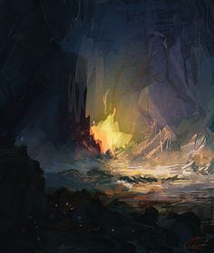 Cavesketch03 by RichardDorran on deviantART