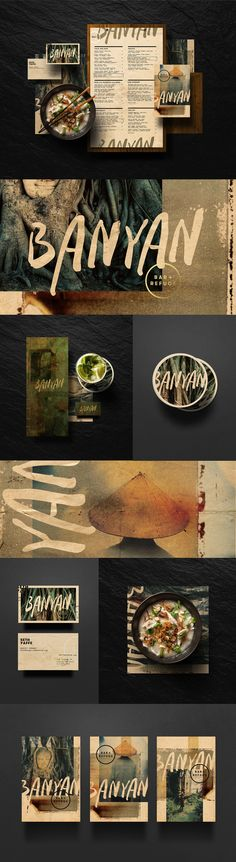 Banyan Bar & Refuge. Identity design by Adam & Co.