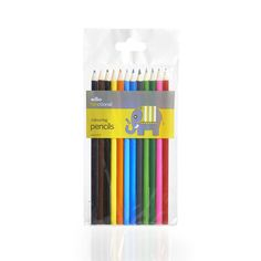 Wilko Everyday Value Pencils Colouring x 12