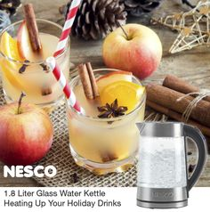 NESCO®: Roaster Ovens | Dehydrators | Small Appliances | Jerky Spices  | Heating Up Your Holiday Drinks