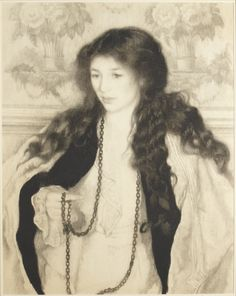Floretta [Portrait of Agnes Doggett, Later Mrs. Charles Ruddy] (x1969-398)   Princeton University Art Museum
