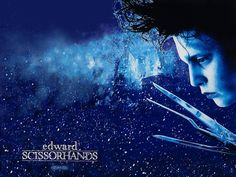One of my absolute faves, 'Edward Scissorhands', a magical and heart-felt tale of a young man created by an inventor who dies before giving him hands, leaving him with scissors for hands (hence the title).