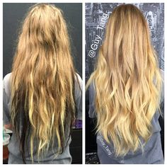 Getting the black chunks out of hair makes her hair appear fuller and longer. She wanted a natural look and it took 8 hours to correct. Video coming soon. and unite. Guy Tang Hair, Ugly Hair, Hair Junkie, Hair Heaven, Haircut And Color, New Hair Colors, Hair Dos, Gorgeous Hair, Hair Hacks