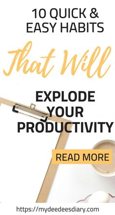 Sometimes it can be so hard to be productive especially if you feel like you suck at it. There are so many productivity tips out there, but here are 10 tips to increase your productivity levels that have done wonders for my own life. CLICK HERE to read more about how you too can increase your productivity and get more things done than you ever imagined. #productivity #getthingsdone #howto #organization