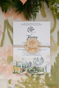 This watercolor wedding stationery was featured in a real wedding album on The Knot. See more from the beautiful backyard wedding by checking out the full summer wedding album on The Knot. Personalize your wedding and put a spin on tradition with The Knot's customizable wedding websites, wedding invitations, registry (and more!). Not sure where to start? Get ideas and advice from our editors on everything from wedding colors and venue types to all things guest.