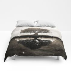 The lone Night reflex Comforters by Viviana Gonzalez. Worldwide shipping available at Society6.com. Just one of millions of high quality products available.