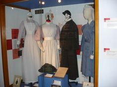 Display cabinet London Hospital Museum History Of Nursing, Nursing Uniforms, Old Hospital, Vintage Nurse, Nurse Stuff, School Pictures, Always Learning, Nightingale, Hospitals