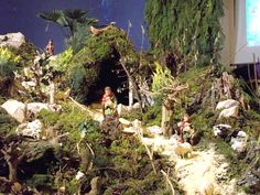 Europe's larges indoor Nativity scene - Vörs The arrangement of a Nativity scene in Vörs is a living tradition dating back more than half a century. The first crib in the Roman Catholic church in the.