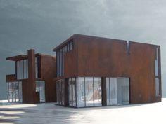 Sun Slice House - Steven Holl architects