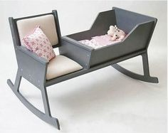 Rocking chair/ Cradle