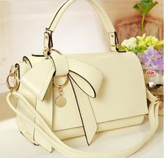 cute fashion for women | Korea Lady bag for Women Cute Bowknot fashion Design leather Purse ...