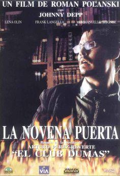 Basada en la novela de Pérez Reverte El club Dumas. Búsca esta película en http://absys.asturias.es/cgi-abnet_Bast/abnetop?ACC=DOSEARCH&xsqf01=novena+puerta+polanski