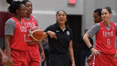 A lot of new faces, including Dawn Staley taking over as coach, made for an intriguing training camp for the U.S. women's national team, which had just two former Olympians in camp last week.