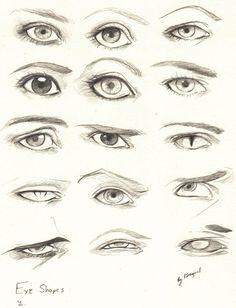 New Ideas Eye Drawing Tutorial Sketches Design Reference Arte Com Grey's Anatomy, Eye Anatomy, Anatomy Drawing, Anatomy Art, Anatomy Sketches, Realistic Eye Drawing, Drawing Eyes, Drawing Face Shapes, Eye Sketch