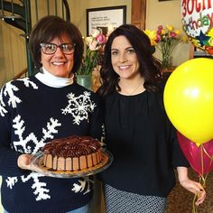 Not only do Roe and Laura share ownership of the Salon they also share a birthday today! HAPPY BIRTHDAY LADIES!!!  #birthday #blessed #thehappynow #smile #love #friendship #cake #awesome