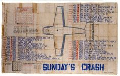 "George Widener ""Sunday´s Crash"", undatiert, Sammlung abcd, Paris, Courtesy George Widener"