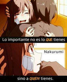 Quienes están a tu lado en las buenas y en las malas. Manga Anime, Anime Art, Manga Quotes, Sad Life, Anime Love, Kawaii Anime, Otaku, Techno, Chibi