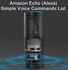 Amazon Echo Voice Commands - Looking for a list of simple voice commands? These simple words are a great way to talk to Alexa!