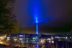 Saanatunturi valaistaan tänään sinivalkoiseksi – Luminous Saana -teos hehkuu Suomeen, Ruotsiin ja Norjaan