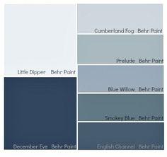 Je modrá barva studená? Ne bezpodmínečně — Ambience design
