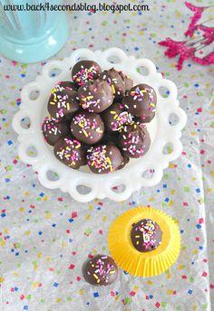 Skinny Caramel Truffles