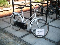 Have you seen our bike?